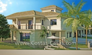 Beachfront new luxury villas for sale, first line beach Marbella - Costa del Sol 8