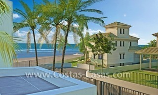 Beachfront new luxury villas for sale, first line beach Marbella - Costa del Sol 2