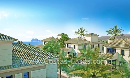 Beachfront new luxury villas for sale, first line beach Marbella - Costa del Sol 4