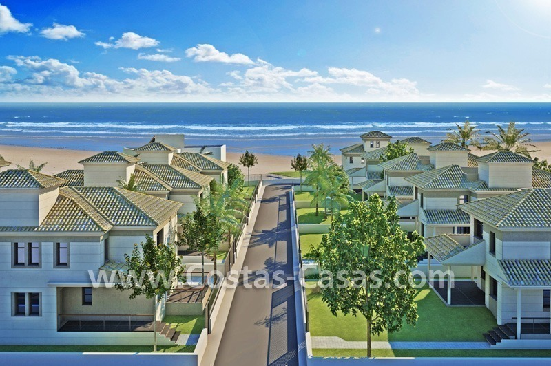 Beachfront new luxury villas for sale, first line beach Marbella - Costa del Sol