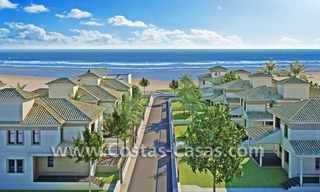 Beachfront new luxury villas for sale, first line beach Marbella - Costa del Sol 0
