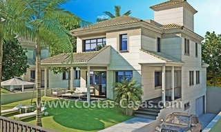 Beachfront new luxury villas for sale, first line beach Marbella - Costa del Sol 6