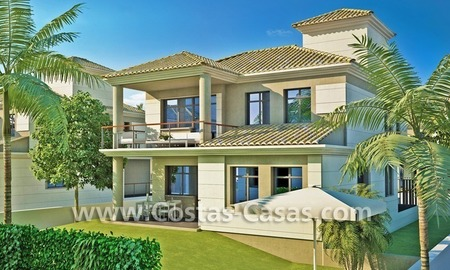 Beachfront new luxury villas for sale, first line beach Marbella - Costa del Sol 7