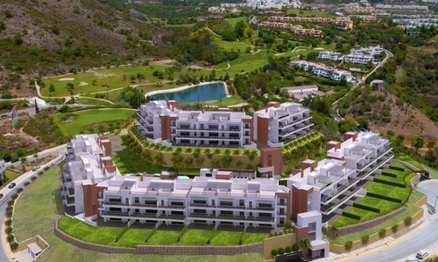 New modern and luxury golf apartments for sale in Marbella - Benahavis