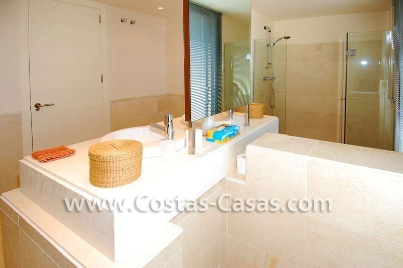 Luxury frontline golf modern penthouse for sale in a 5*golf resort, Benahavis - Estepona - Marbella 24