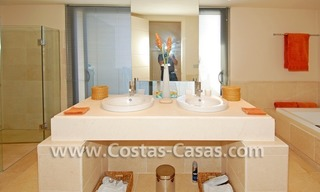 Luxury frontline golf modern penthouse for sale in a 5*golf resort, Benahavis - Estepona - Marbella 26
