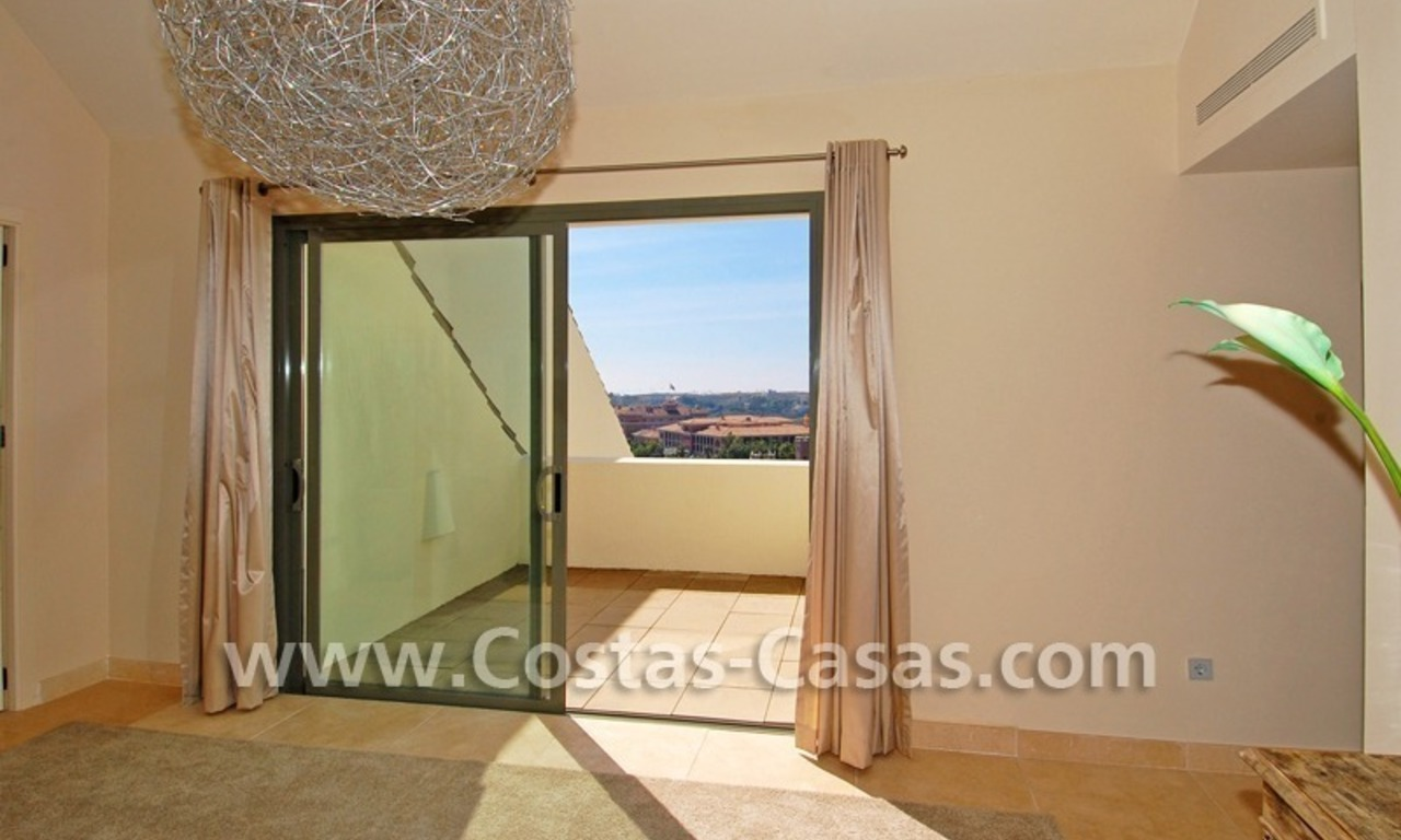 Luxury frontline golf modern penthouse for sale in a 5*golf resort, Benahavis - Estepona - Marbella 21