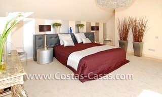 Luxury frontline golf modern penthouse for sale in a 5*golf resort, Benahavis - Estepona - Marbella 16
