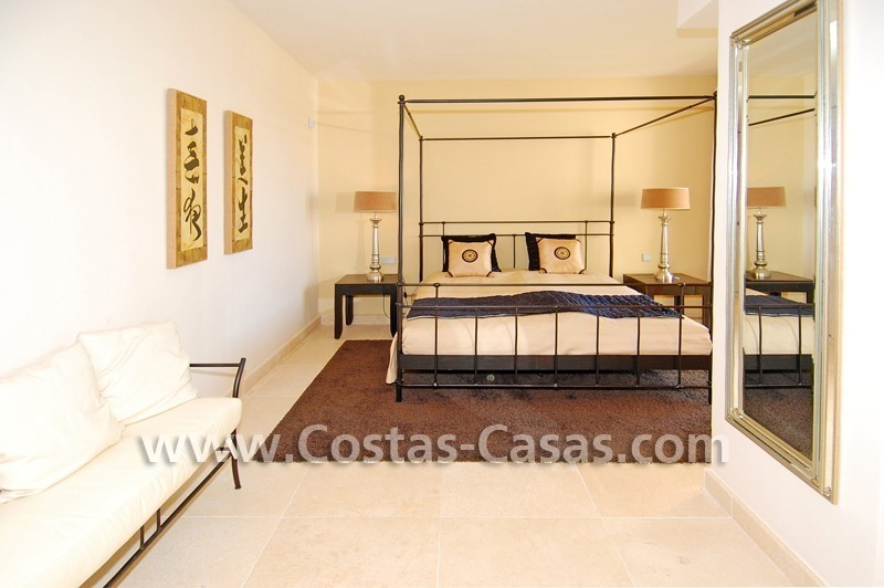 Luxury frontline golf modern penthouse for sale in a 5*golf resort, Benahavis - Estepona - Marbella 15