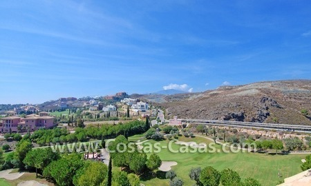 Luxury frontline golf modern penthouse for sale in a 5*golf resort, Benahavis - Estepona - Marbella 1