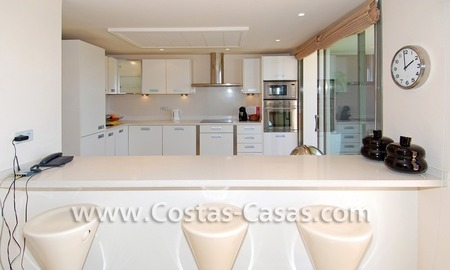 Luxury frontline golf modern penthouse for sale in a 5*golf resort, Benahavis - Estepona - Marbella 13