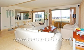 Luxury frontline golf modern penthouse for sale in a 5*golf resort, Benahavis - Estepona - Marbella 11