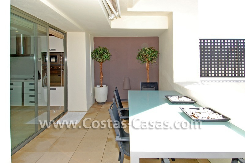 Luxury frontline golf modern penthouse for sale in a 5*golf resort, Benahavis - Estepona - Marbella 4