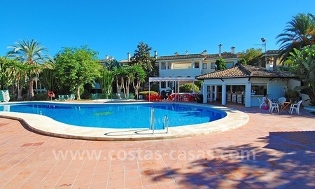 Beachfront penthouse apartment for sale on the New Golden Mile between Marbella and Estepona centre 19