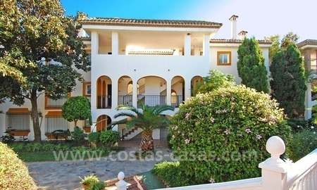 Beachfront penthouse apartment for sale on the New Golden Mile between Marbella and Estepona centre 20