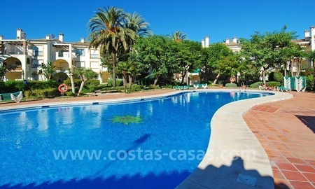 Beachfront penthouse apartment for sale on the New Golden Mile between Marbella and Estepona centre 22
