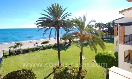 Beachfront penthouse apartment for sale on the New Golden Mile between Marbella and Estepona centre 6