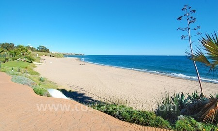 Beachfront penthouse apartment for sale on the New Golden Mile between Marbella and Estepona centre 25
