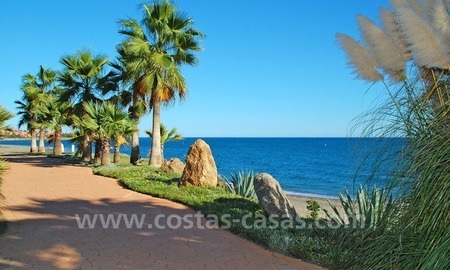 Beachfront penthouse apartment for sale on the New Golden Mile between Marbella and Estepona centre 28