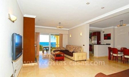 Beachfront penthouse apartment for sale on the New Golden Mile between Marbella and Estepona centre 7