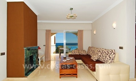Beachfront penthouse apartment for sale on the New Golden Mile between Marbella and Estepona centre 8