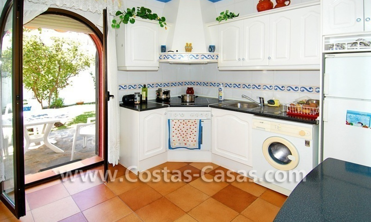 Andalusian styled beachside villa for sale in Marbella 11