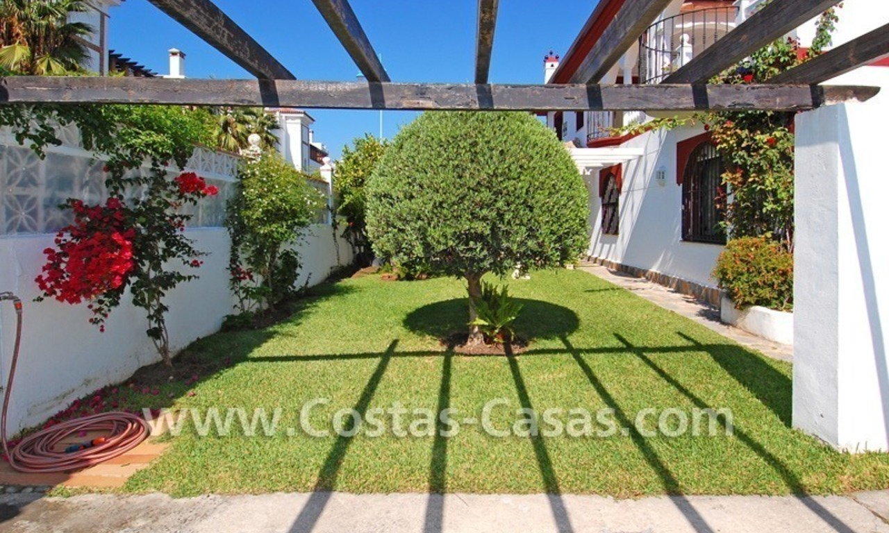 Andalusian styled beachside villa for sale in Marbella 5