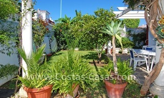Andalusian styled beachside villa for sale in Marbella 6