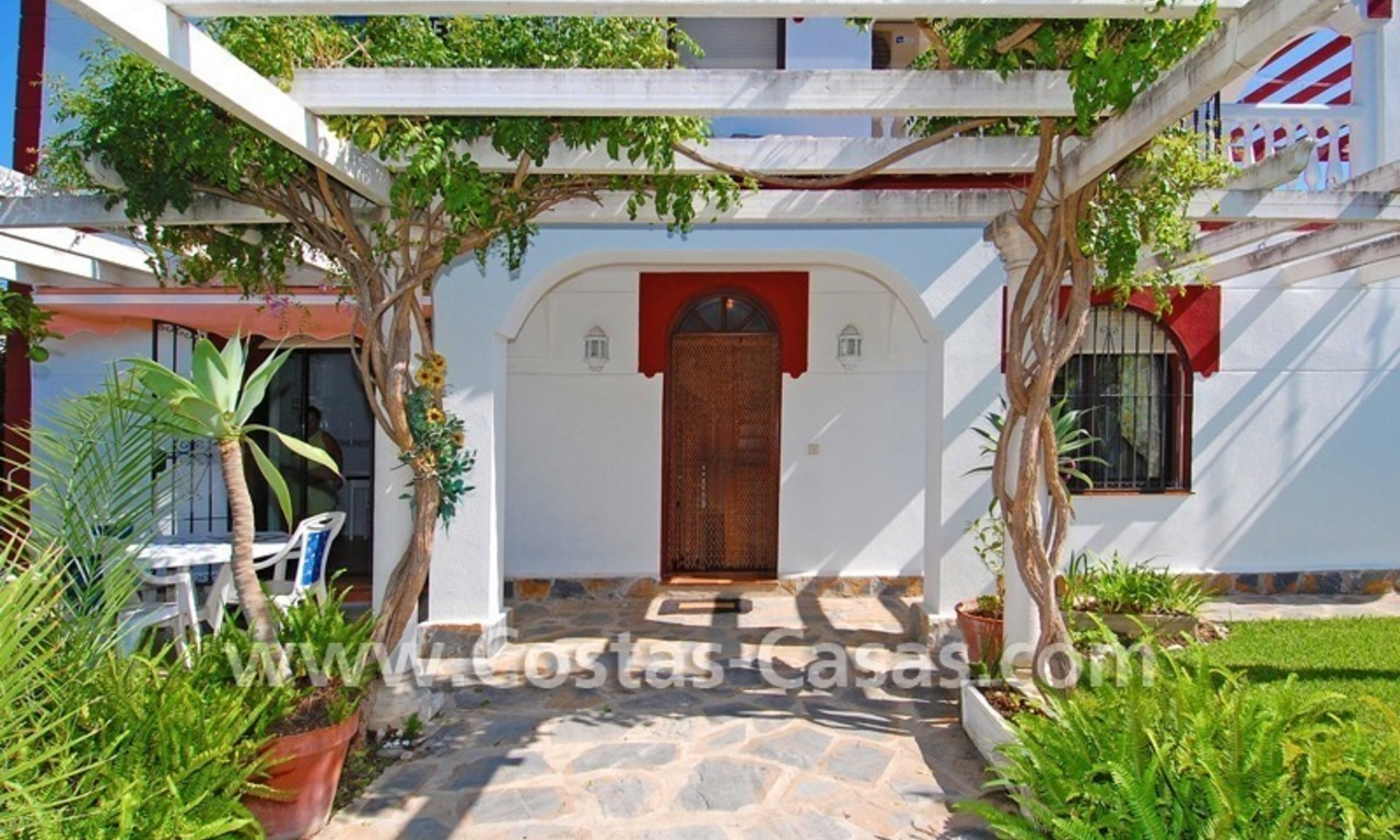 Andalusian styled beachside villa for sale in Marbella 8