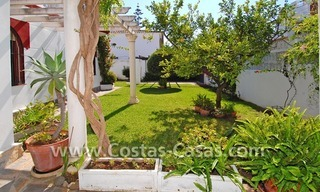 Andalusian styled beachside villa for sale in Marbella 7