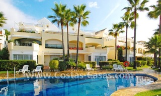 Front line beach apartment for sale in Marbella 6