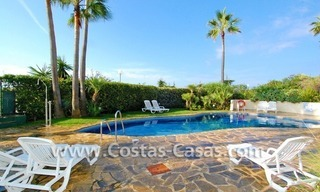 Front line beach apartment for sale in Marbella 7