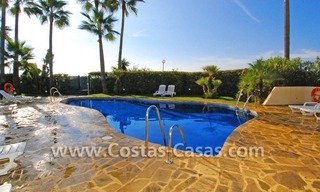 Front line beach apartment for sale in Marbella 8