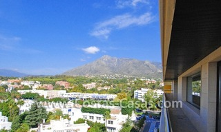 Unique luxury contemporary penthouse apartment for sale in Marbella on the Golden Mile near central Marbella 3