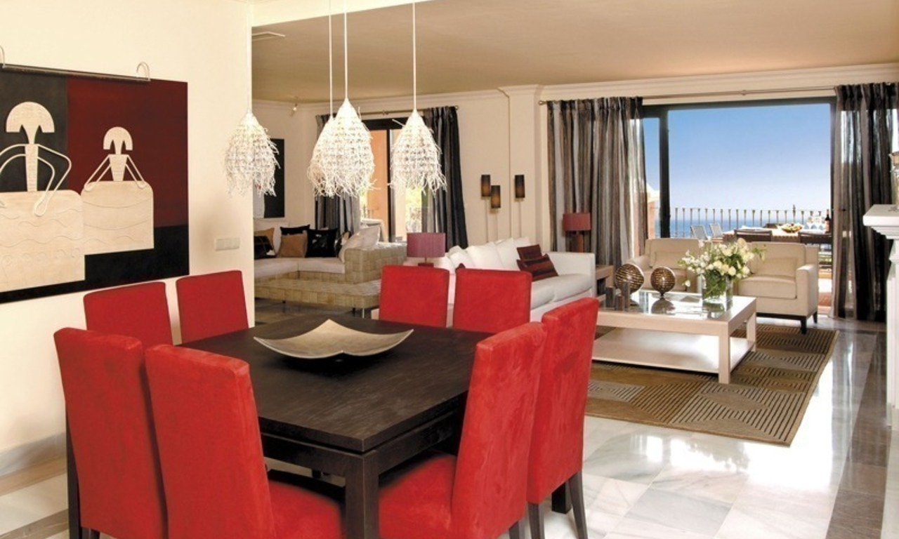 Spacious luxury apartments and penthouses for sale in the area of Marbella - Benahavis 1