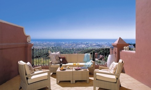 Spacious luxury apartments and penthouses for sale in the area of Marbella - Benahavis