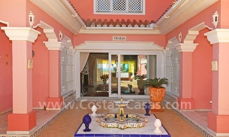 First line beach villa with 2 guest houses for sale in East Marbella 9