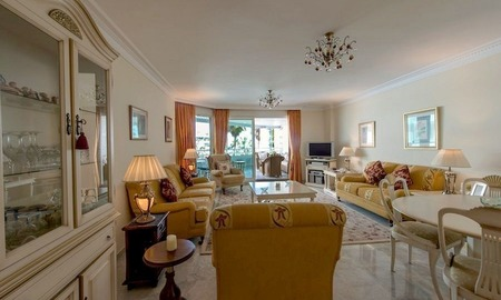 First line beach apartment for sale on the Golden Mile in Marbella 3