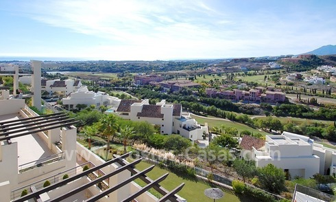 Luxury golf apartments and penthouses for sale, golf resort, Benahavis - Estepona - Marbella