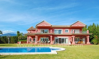 Classical luxury villa to buy in Nueva Andalucia - Puerto Banus - Marbella 1