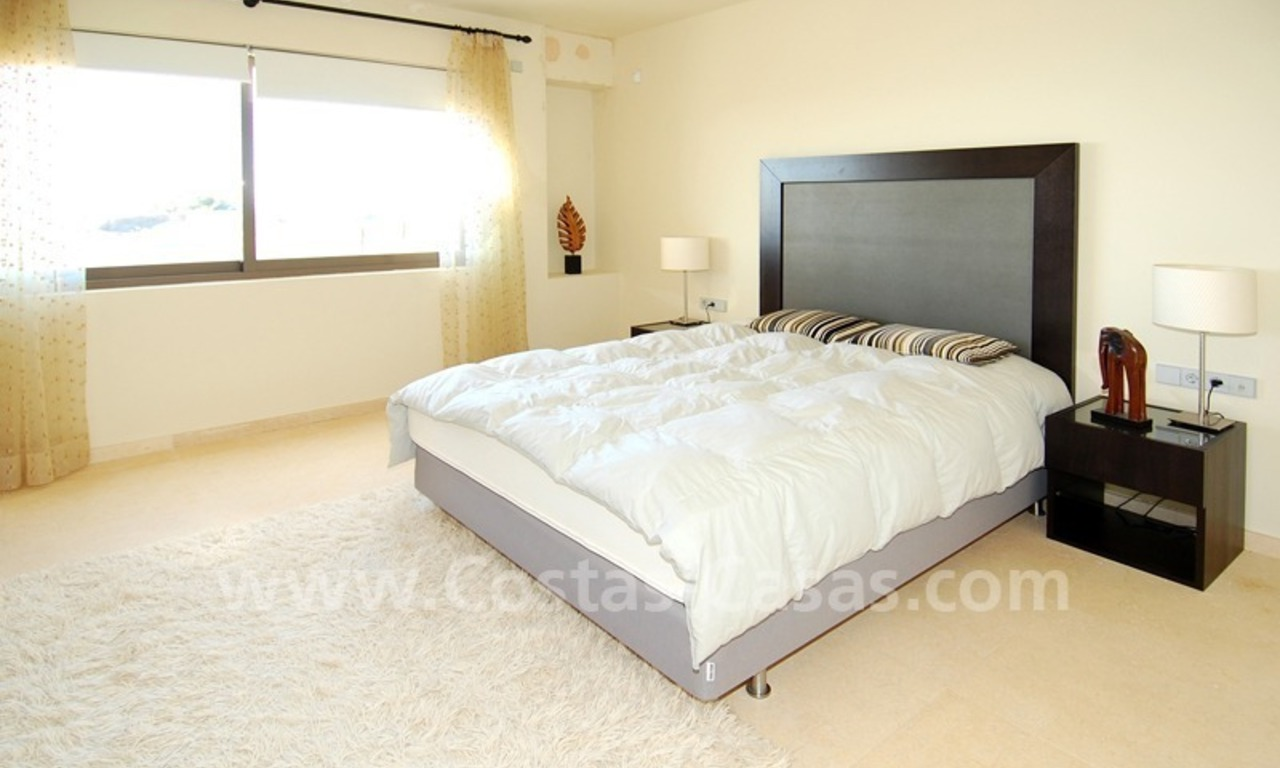 Modern styled golf apartment for sale in a 5*golf resort, Benahavis - Estepona - Marbella 8