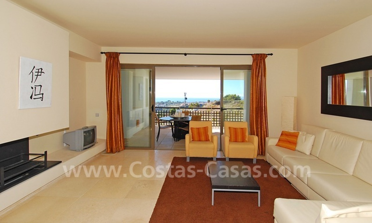 Modern styled golf apartment for sale in a 5*golf resort, Benahavis - Estepona - Marbella 0