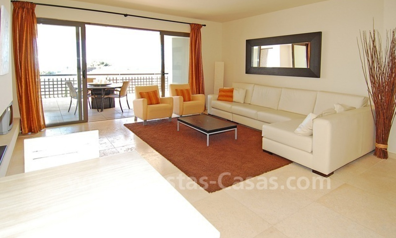 Modern styled golf apartment for sale in a 5*golf resort, Benahavis - Estepona - Marbella 1