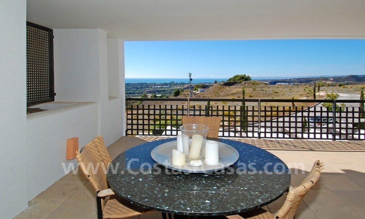 Modern styled golf apartment for sale in a 5*golf resort, Benahavis - Estepona - Marbella 4