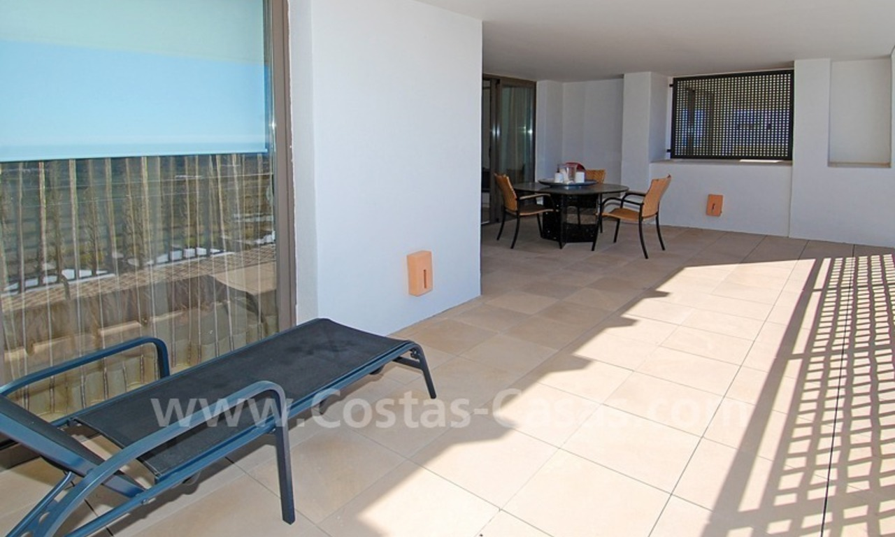 Modern styled golf apartment for sale in a 5*golf resort, Benahavis - Estepona - Marbella 5