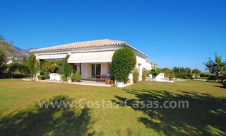 Modern Andalusian villa to buy on the Golden Mile in Marbella 1