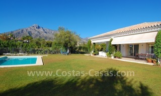 Modern Andalusian villa to buy on the Golden Mile in Marbella 2