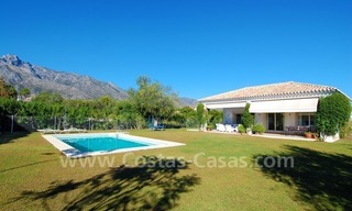 Modern Andalusian villa to buy on the Golden Mile in Marbella 3