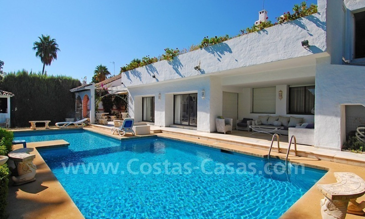 Beach property villa for sale - Puerto Banus - Marbella 2