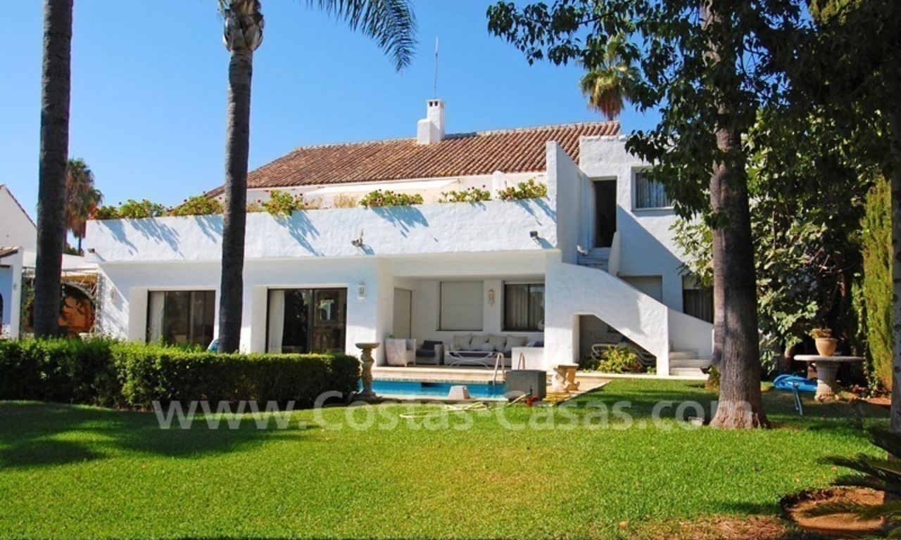 Beach property villa for sale - Puerto Banus - Marbella 0